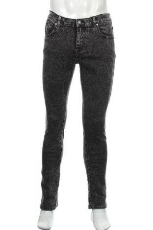 Мъжки дънки Your Turn, Размер M, Цвят Сив, 98% памук, 2% еластан, Цена 24,57лв.