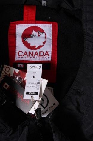 Мъжки елек Canada Weather Gear, Размер S, Цвят Черен, Полиамид, Цена 44,52лв.
