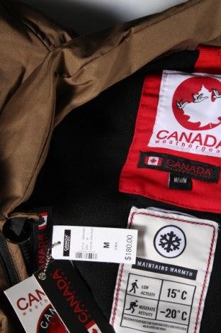 Мъжки елек Canada Weather Gear, Размер M, Цвят Кафяв, Полиамид, Цена 52,47лв.