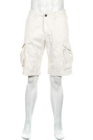 Мъжки къс панталон H&M L.O.G.G., Размер M, Цвят Бежов, Памук, Цена 11,50лв.