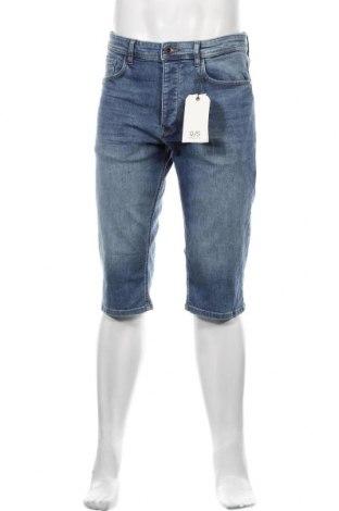 Pánské kraťasy Q/S by S.Oliver, Velikost M, Barva Modrá, 86% bavlna, 12% polyester, 2% elastan, Cena  750,00Kč