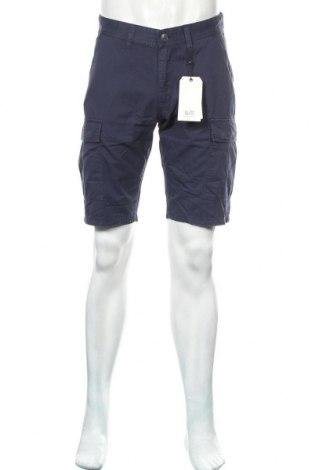 Ανδρικό κοντό παντελόνι Q/S by S.Oliver, Μέγεθος M, Χρώμα Μπλέ, Βαμβάκι, Τιμή 26,68€