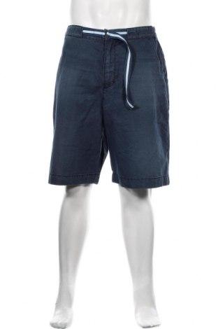 Pánské kraťasy S.Oliver, Velikost L, Barva Modrá, 63% bavlna, 37% polyester, Cena  515,00Kč