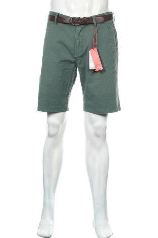 Ανδρικό κοντό παντελόνι S.Oliver, Μέγεθος M, Χρώμα Πράσινο, 97% βαμβάκι, 3% ελαστάνη, Τιμή 26,68€