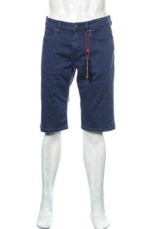 Мъжки къс панталон S.Oliver, Размер L, Цвят Син, 98% памук, 2% еластан, Цена 45,82лв.