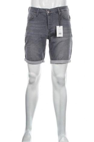 Мъжки къс панталон Sondag & Sons, Размер M, Цвят Сив, 98% памук, 2% еластан, Цена 28,32лв.