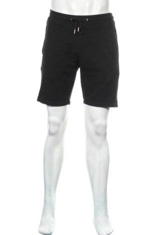 Pantaloni scurți de bărbați Zara, Mărime M, Culoare Negru, 91% bumbac, 9% poliester, Preț 83,88 Lei
