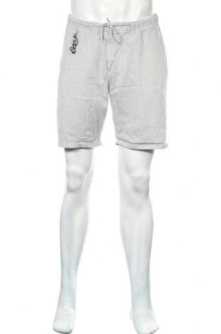 Мъжки къс панталон Zara Man, Размер L, Цвят Сив, Памук, Цена 27,00лв.