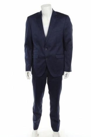 Ανδρικό κοστούμι Otto Kern, Μέγεθος XL, Χρώμα Μπλέ, 95% βαμβάκι, 5% ελαστάνη, Τιμή 77,36€