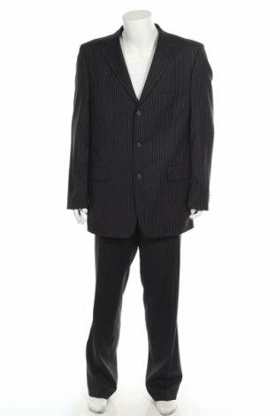 Męski garnitur Roy Robson, Rozmiar XL, Kolor Czarny, Wełna, Cena 104,40zł