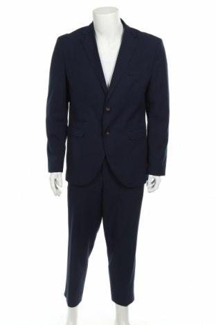 Ανδρικό κοστούμι Selected Homme, Μέγεθος XL, Χρώμα Μπλέ, 62% πολυεστέρας, 37% βισκόζη, 3% ελαστάνη, Τιμή 55,19€