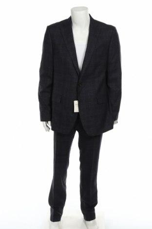 Ανδρικό κοστούμι Van Gils, Μέγεθος XL, Χρώμα Μπλέ, 85% μαλλί, 8% λινό, 7% μετάξι, Τιμή 77,36€