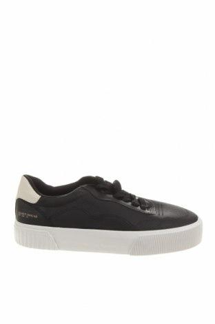 Мъжки обувки Bershka, Размер 40, Цвят Черен, Еко кожа, Цена 26,55лв.