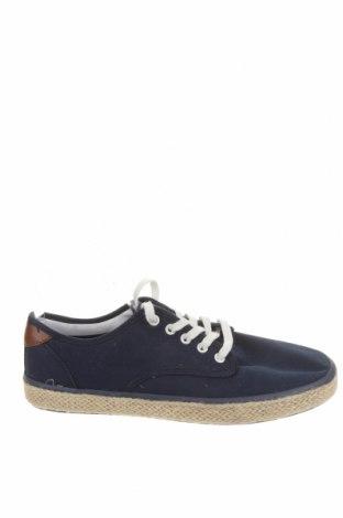 Ανδρικά παπούτσια Pull&Bear, Μέγεθος 40, Χρώμα Μπλέ, Κλωστοϋφαντουργικά προϊόντα, Τιμή 25,26€