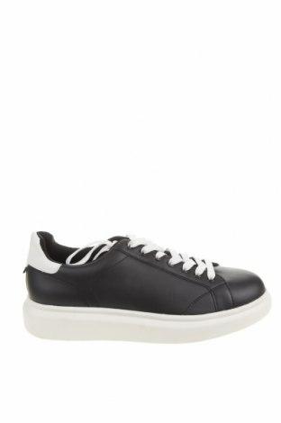 Pánské boty Pull&Bear, Velikost 44, Barva Černá, Eko kůže, Cena  566,00Kč