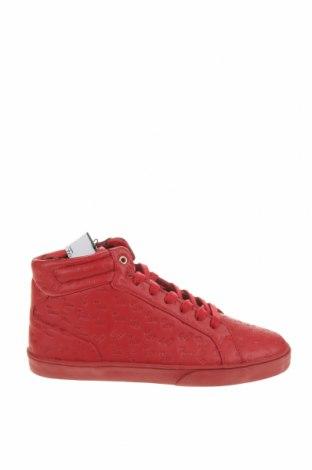 Încălțăminte bărbătească Zara, Mărime 42, Culoare Roșu, Piele ecologică, Preț 85,76 Lei