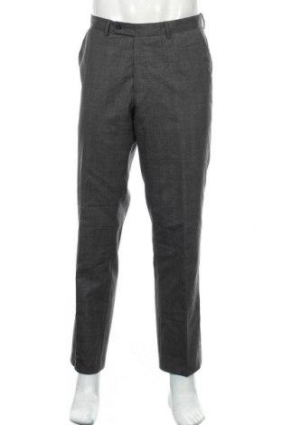 Pantaloni de bărbați, Mărime L, Culoare Gri, Lână, Preț 27,85 Lei