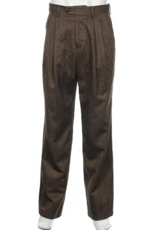 Мъжки панталон ASOS, Размер M, Цвят Кафяв, 65% полиестер, 35% вискоза, Цена 9,98лв.