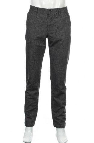 Мъжки панталон Alberto, Размер L, Цвят Сив, 72% памук, 16% полиестер, 9% вискоза, 3% еластан, Цена 43,47лв.