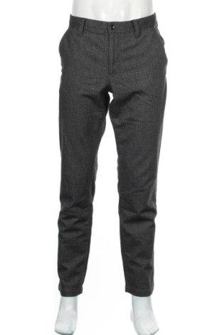 Мъжки панталон Alberto, Размер L, Цвят Сив, 72% памук, 16% полиестер, 9% вискоза, 3% еластан, Цена 12,60лв.