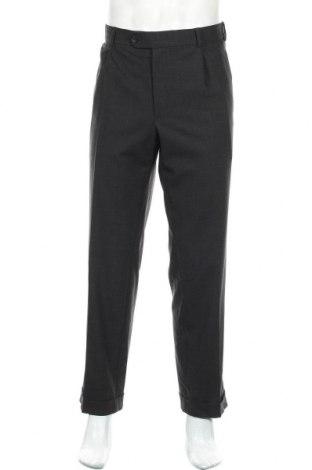 Мъжки панталон Atelier GARDEUR, Размер XL, Цвят Сив, 60% вълна, 32% полиестер, 2% еластан, Цена 32,76лв.