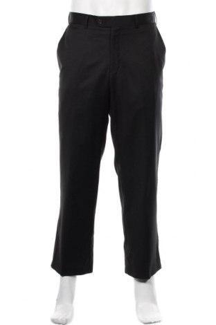 Мъжки панталон Casa Blanca, Размер L, Цвят Черен, Вълна, Цена 22,05лв.
