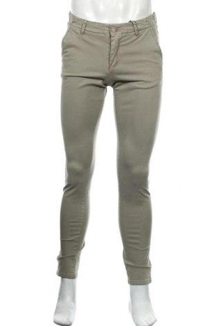 Мъжки панталон Dreimaster, Размер S, Цвят Зелен, 97% памук, 3% еластан, Цена 27,30лв.