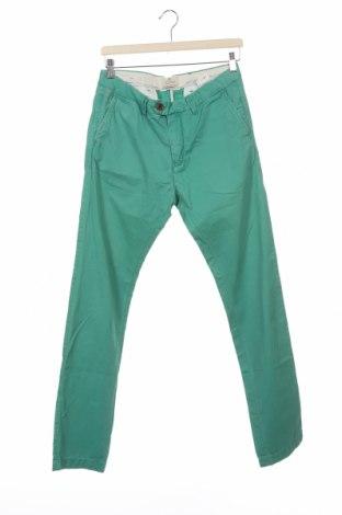 Мъжки панталон Scotch & Soda, Размер S, Цвят Зелен, Памук, Цена 16,67лв.