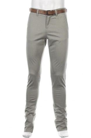 Pantaloni de bărbați Tom Tailor, Mărime M, Culoare Verde, 97% bumbac, 3% elastan, Preț 59,77 Lei