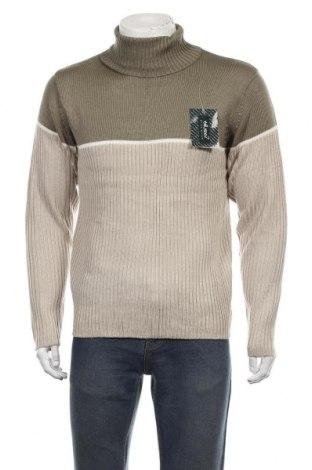 Ανδρικό πουλόβερ, Μέγεθος L, Χρώμα Πράσινο, Ακρυλικό, Τιμή 18,19€