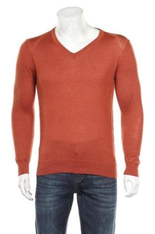 Мъжки пуловер Andrews, Размер M, Цвят Кафяв, 50% акрил, 50% вълна, Цена 28,93лв.