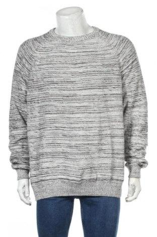 Мъжки пуловер Angelo Litrico, Размер XXL, Цвят Сив, Памук, Цена 25,20лв.