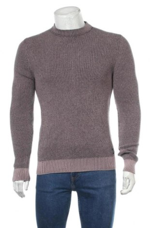 Мъжки пуловер Angelo Litrico, Размер S, Цвят Лилав, Памук, Цена 28,35лв.