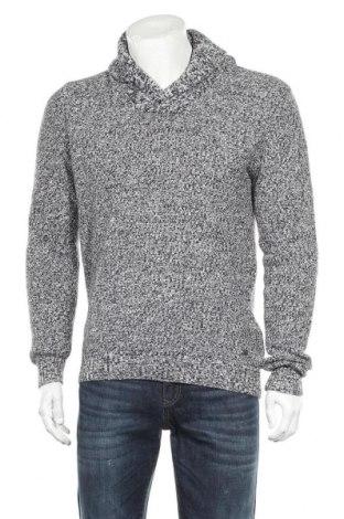 Мъжки пуловер Angelo Litrico, Размер M, Цвят Син, Памук, Цена 24,57лв.
