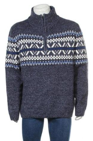 Мъжки пуловер Angelo Litrico, Размер XXL, Цвят Многоцветен, 85% акрил, 15% вълна, Цена 29,40лв.