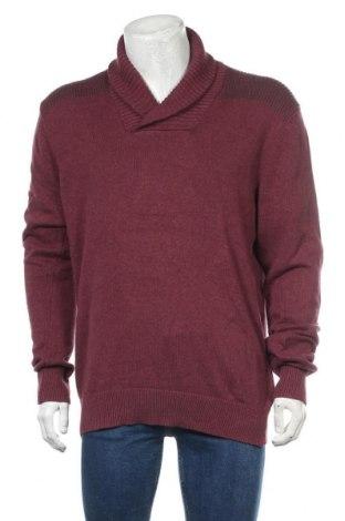 Мъжки пуловер Angelo Litrico, Размер L, Цвят Лилав, Памук, Цена 27,93лв.