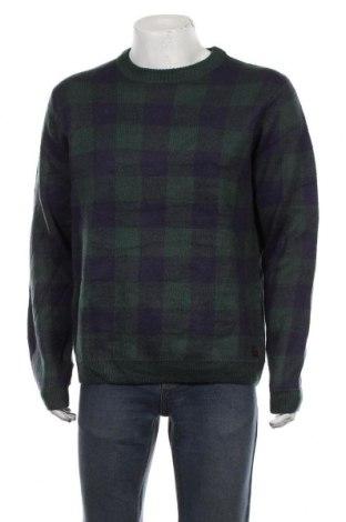 Мъжки пуловер Angelo Litrico, Размер XL, Цвят Зелен, Акрил, Цена 29,40лв.