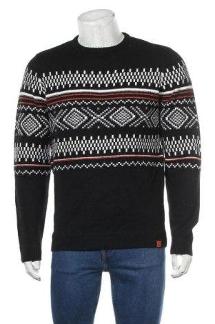 Мъжки пуловер Angelo Litrico, Размер M, Цвят Черен, Акрил, Цена 35,70лв.