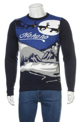 Ανδρικό πουλόβερ Angelo Litrico, Μέγεθος S, Χρώμα Πολύχρωμο, Ακρυλικό, Τιμή 20,13€