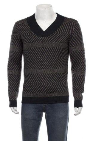 Ανδρικό πουλόβερ Antony Morato, Μέγεθος L, Χρώμα Μπλέ, 50% μαλλί, 50%ακρυλικό, Τιμή 36,37€
