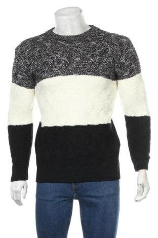 Ανδρικό πουλόβερ Aowofs, Μέγεθος L, Χρώμα Λευκό, 75% πολυεστέρας, 20% βαμβάκι, 5% ελαστάνη, Τιμή 15,59€