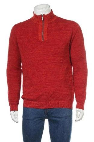 Ανδρικό πουλόβερ Basefield, Μέγεθος M, Χρώμα Πορτοκαλί, Βαμβάκι, Τιμή 20,78€