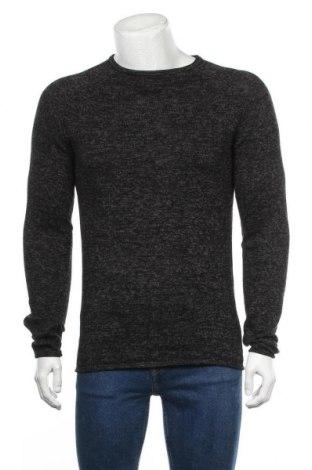 Мъжки пуловер Blend, Размер M, Цвят Черен, Памук, акрил, Цена 29,45лв.