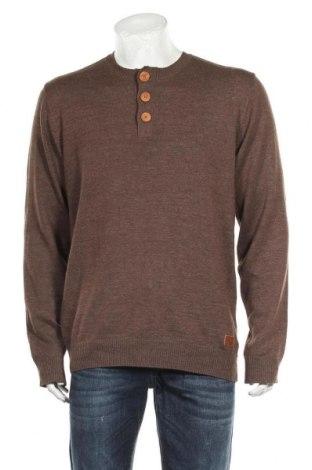 Мъжки пуловер Blend, Размер XL, Цвят Кафяв, Цена 8,14лв.