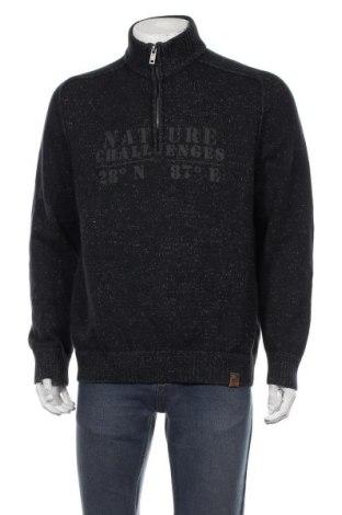 Ανδρικό πουλόβερ Camel Active, Μέγεθος XL, Χρώμα Μπλέ, Βαμβάκι, Τιμή 31,18€