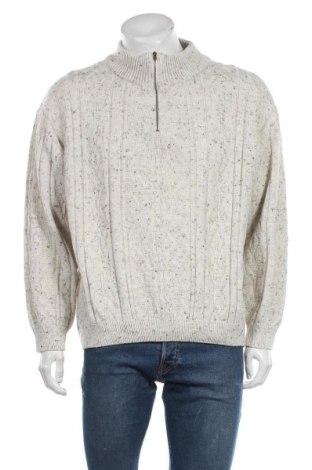 Ανδρικό πουλόβερ Canda, Μέγεθος XL, Χρώμα  Μπέζ, 65%ακρυλικό, 30% μαλλί, 5% βισκόζη, Τιμή 5,46€