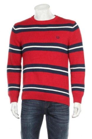 Ανδρικό πουλόβερ Chaps, Μέγεθος S, Χρώμα Πολύχρωμο, Βαμβάκι, Τιμή 6,37€