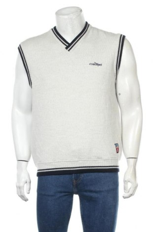 Ανδρικό πουλόβερ Chervo, Μέγεθος L, Χρώμα Λευκό, 50% μαλλί, 50%ακρυλικό, Τιμή 31,18€