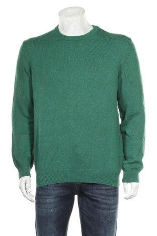 Pánský svetr  Christian Berg, Velikost L, Barva Zelená, 80% bavlna, 20% vlna, Cena  439,00Kč