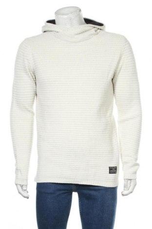 Ανδρικό πουλόβερ Core By Jack & Jones, Μέγεθος M, Χρώμα Εκρού, Τιμή 27,28€